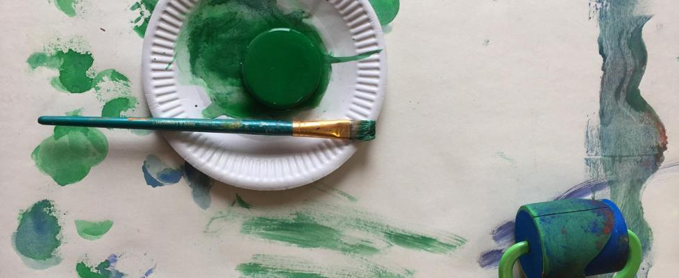 children's paint and painting